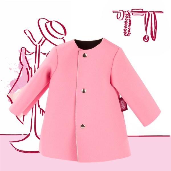 Mantel/Jacke stylish pink50cm | Götz