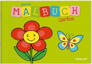 Kleines Malbuch Garten   Tessloff Verlag