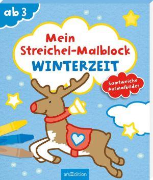 Streichel-Malb: Winterzeit   Ars Edition
