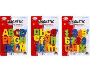 Magnetbuchstaben/-zahlen | Idee + Spiel