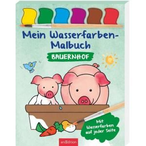 Wasserfarben-Malb.: Bauern   Ars Edition
