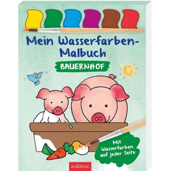 Wasserfarben-Malb.: Bauern | Ars Edition