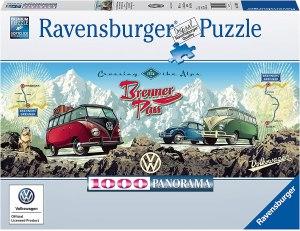 Mit dem Bulli über Brenner1000p-1000 Teile | Ravensburger Spielverlag