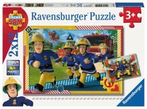 FS: Sam und sein Team 2x12p-2 X 12 Teile | Ravensburger Spielverlag