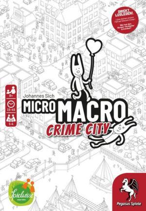 MicroMacro: Crime City (Edition Spielwiese) | Pegasus Spiele