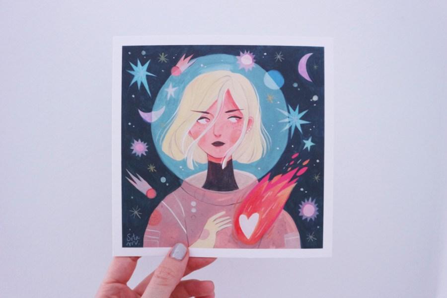 Astronaut print - shop.srtam.com
