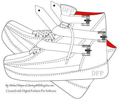 Design Your Own Shoes, Design a Shoe Line