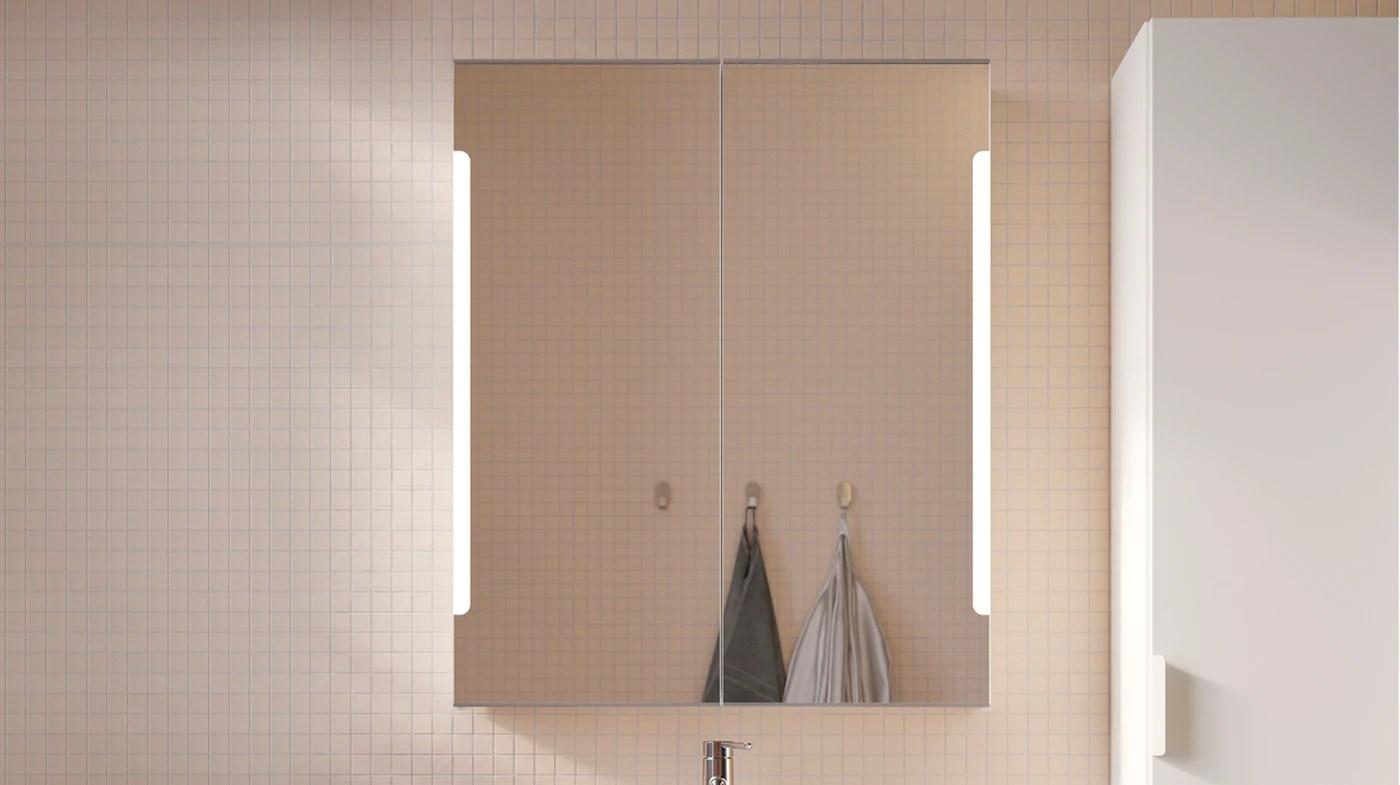 Meubles Avec Miroir Pour Salle De Bain Ikea