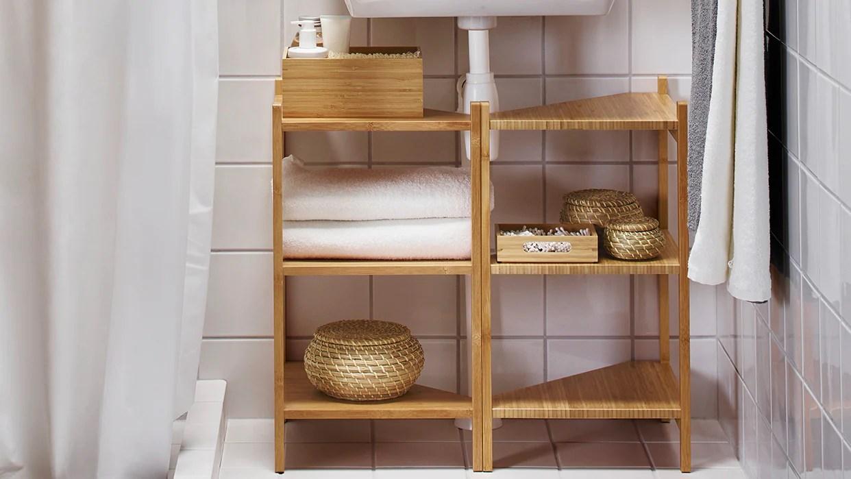 Rangements Pour La Salle De Bain Ikea