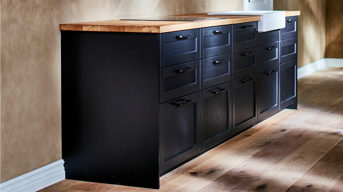 kitchen base cabinets and kitchen sink