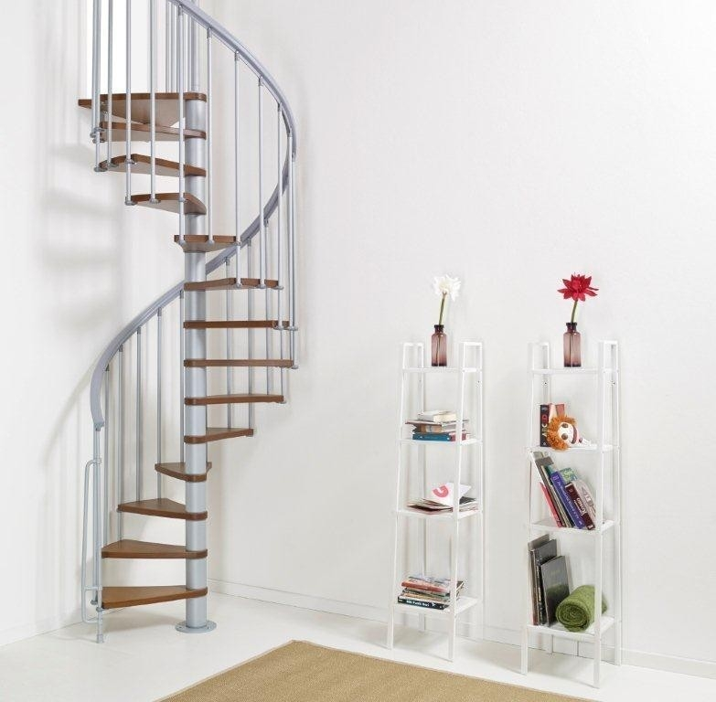1001 Stairs Space Saving Spiral Staircase Type Amalfi | Types Of Spiral Staircase | Staircase 2 | Detail | Living Room | German | Helical Staircase