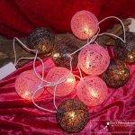 10 Baumwolle Kugel Leuchten Lichterkette Gisi S Dekostubchen