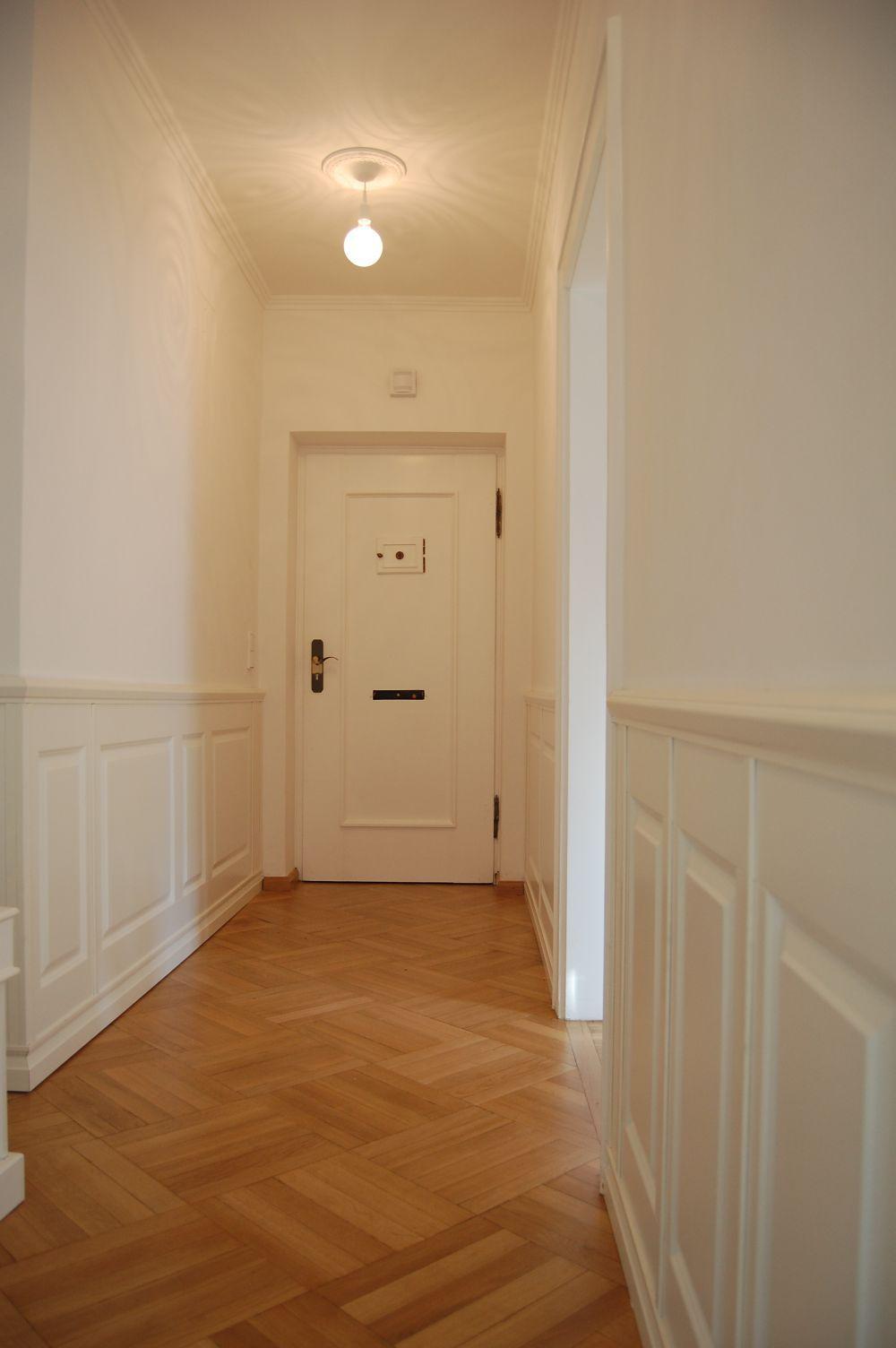 wwwLandhausWandvertaefelungende  Klassisches Design  einfach selbst montiert