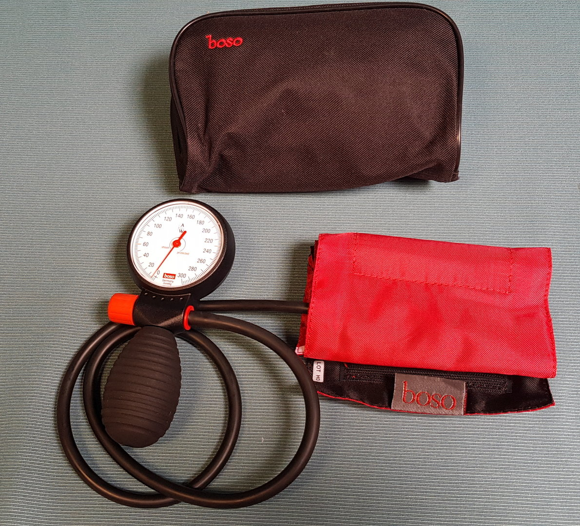 Boso Clinicus Sphygmomanometer Robust Dual Hose Blood