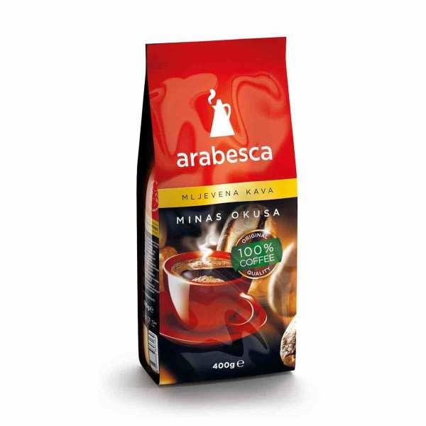Arabesca mljevena minas kava 400g
