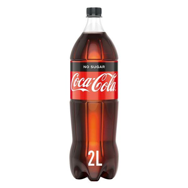 Coca Cola No Sugar 2L