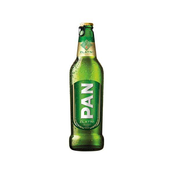 Pan Zlatni pivo 0,5L