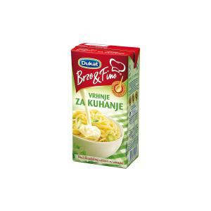 Vrhnje za kuhanje Brzo&Fino 200g, Dukat