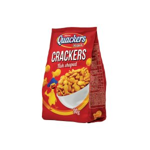Quackers original Crackers Fish shaped 90g