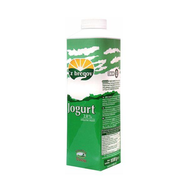 Tekući jogurt 'z bregov 2,8 m.m. 1kg, Vindija