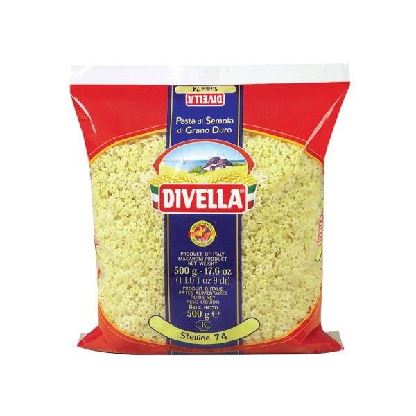 Tjestenina Stelline 74 500g, Divella