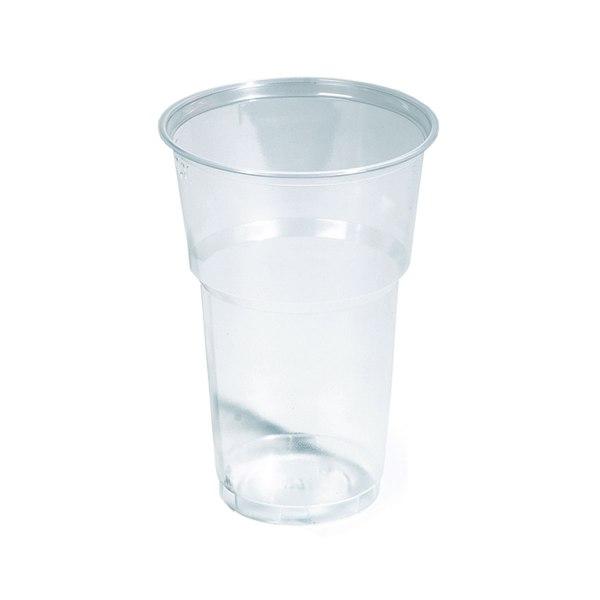 Čaše plastične Bubble prozirne 0,35L 50kom