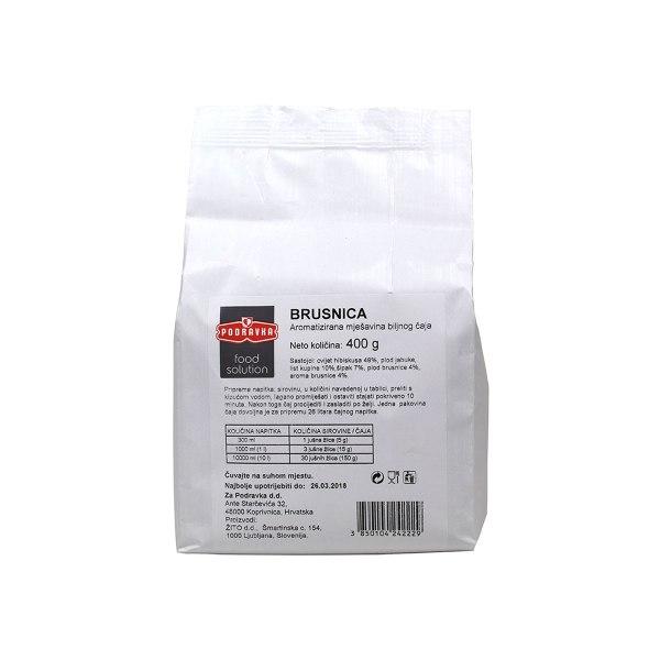Čaj brusnica Gastro vrećica 400g, Podravka