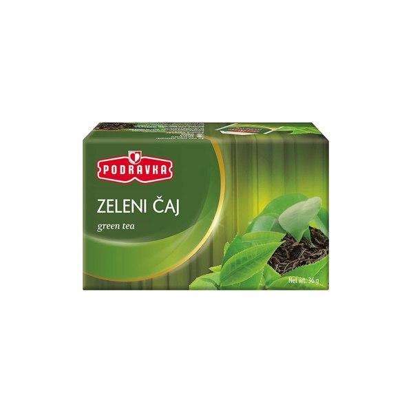 Čaj zeleni 36g, Podravka
