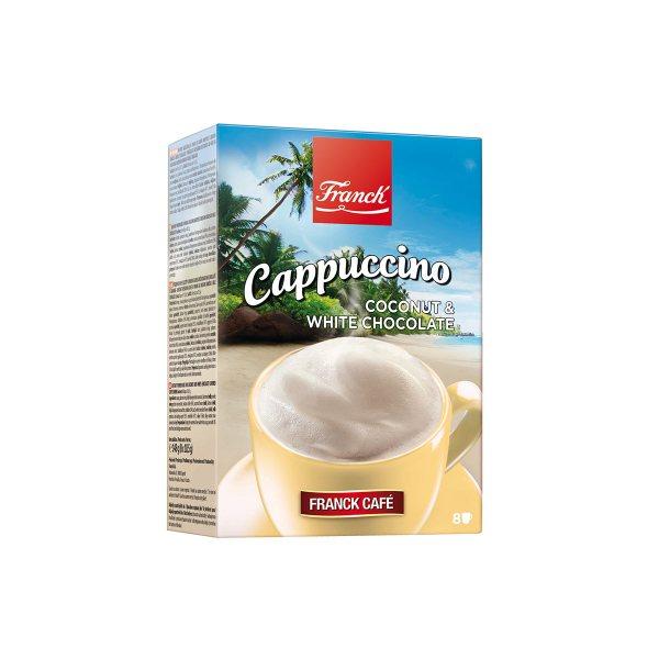 Cappuccino kokos i bijela čokolada 148g, Franck