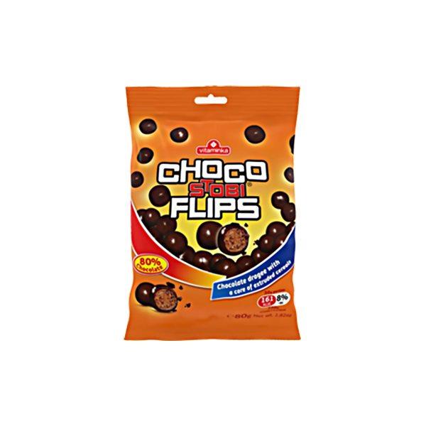Choco stobi flips 80g, Vitaminka
