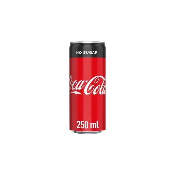 Coca Cola No Sugar 0,25L, lim.