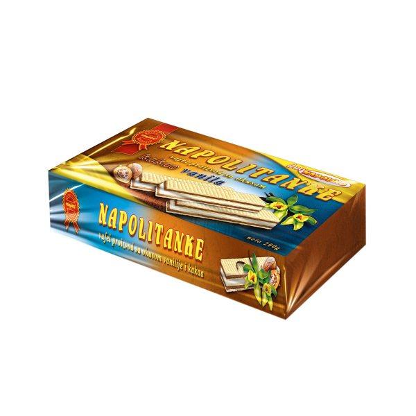 Napolitanke Napolino kakao-vanilija 200g