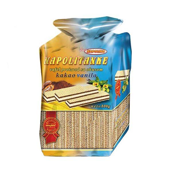 Napolitanke Napolino kakao-vanilija 800g