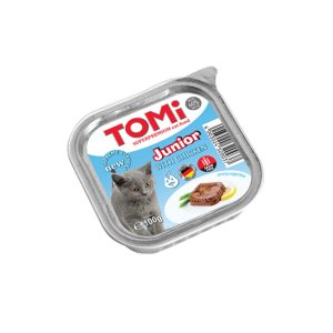 Tomi pašteta za mačke Junior 100g