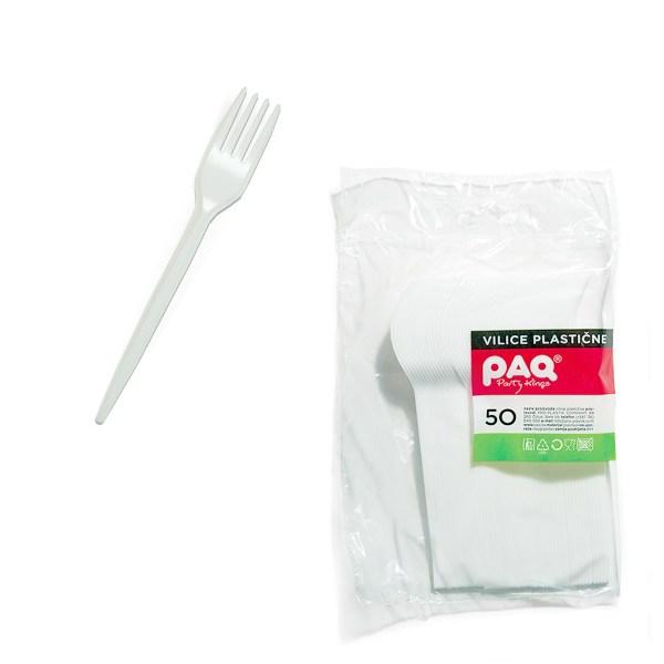 Vilice plastične Paq 50/1