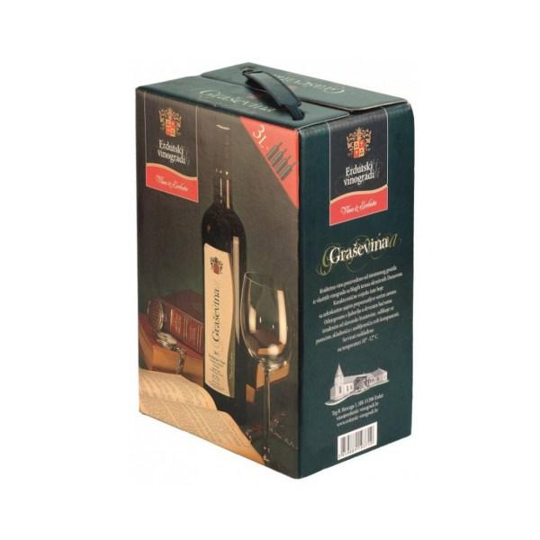 Vino kvalitetno Graševina 3L, Erdut
