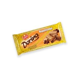 Dorina napolitanke, mliječna čokolada 100g, Kraš