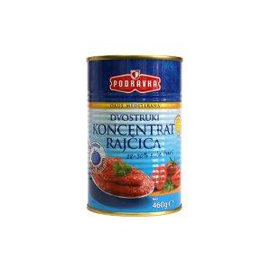 Dvostruki koncentrat rajčice 460g, Podravka