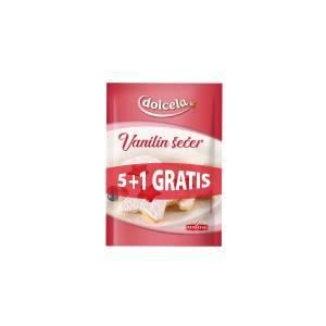 Vanilin šećer 5+1 gratis, 60g, Podravka