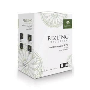Vino kvalitetno Rizling 3L, Đakovo