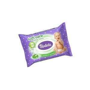 Baby vlažne maramice Soft Care Aloe Vera 20/1