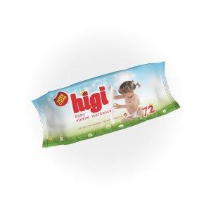 Higi Baby vlažne maramice 72/1
