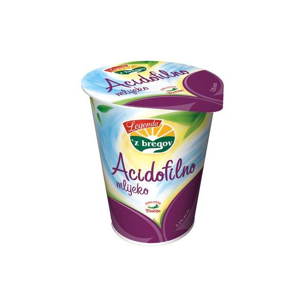 Acidolfilno mlijeko 'z bregov 3,2% m.m. 400g, Vindija