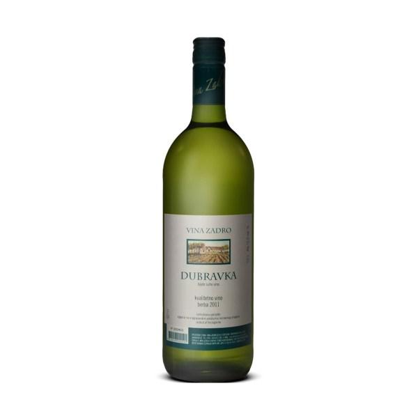 Vino kvalitetno Dubravka 1L, Zadro