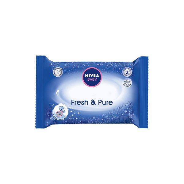 Nivea Baby Fresh&Pure vlažne maramice 63/1