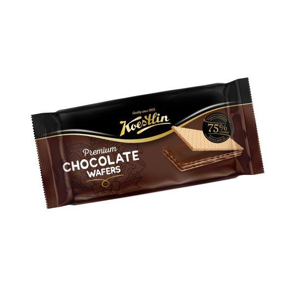 Premium Chocolate wafers 180g, Koestlin