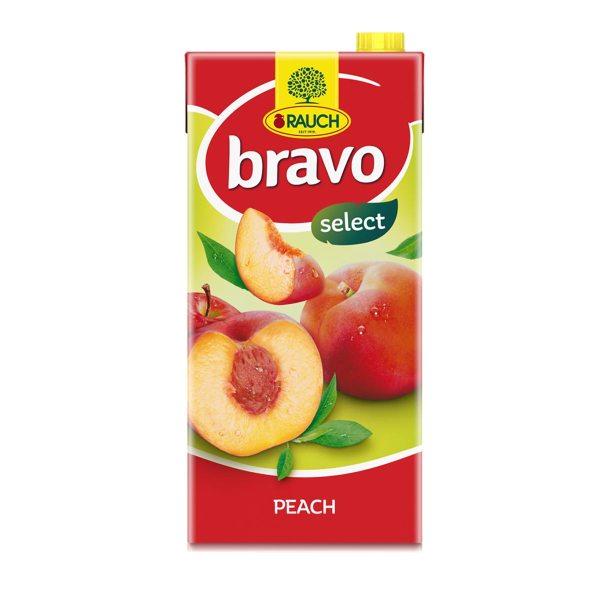Sok Bravo breskva i jabuka 2L, Rauch