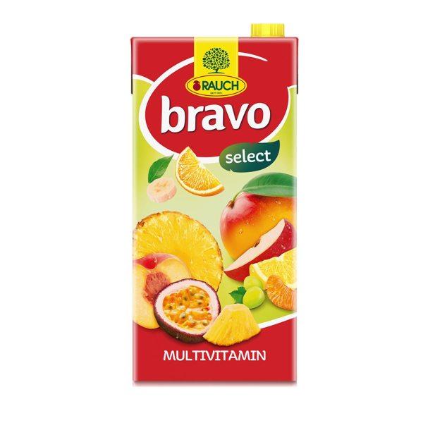 Sok Bravo multivitamin 2L, Rauch