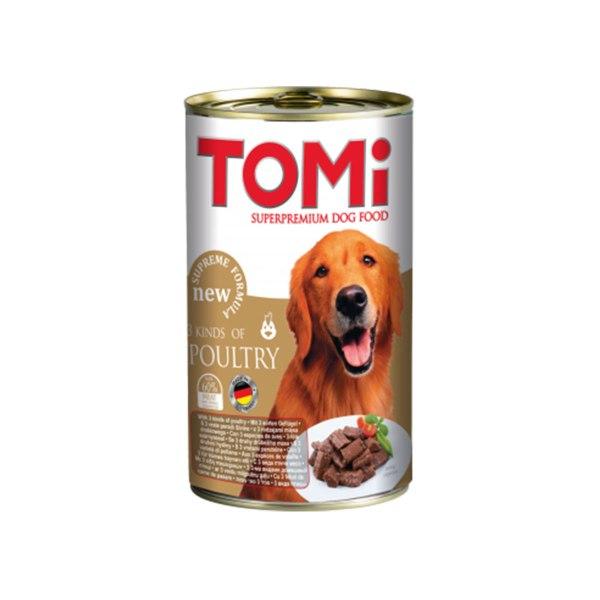 Tomi hrana za pse, 3 vrste peradi 1200g