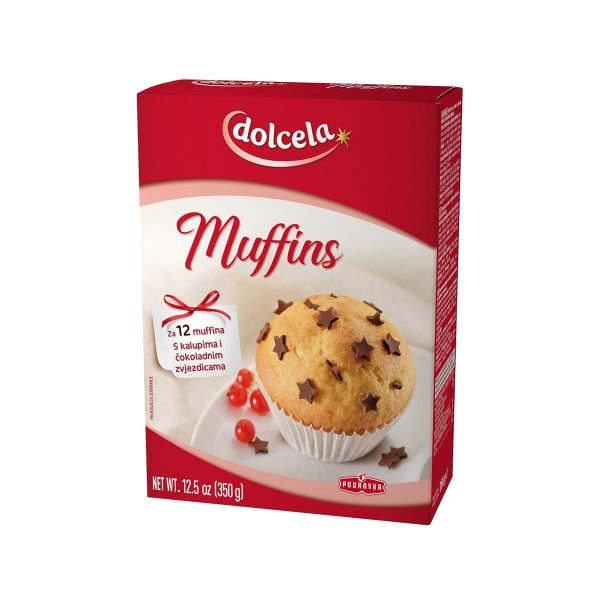 Dolcela Muffins 350g, Podravka